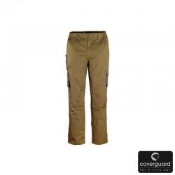 Pantalon Beige-Gris...