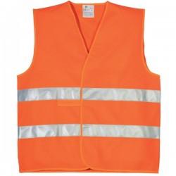 Gilet ECO hi-viz Orange...