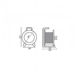 Enrouleur 25M HO5RR-F 3G2.5...